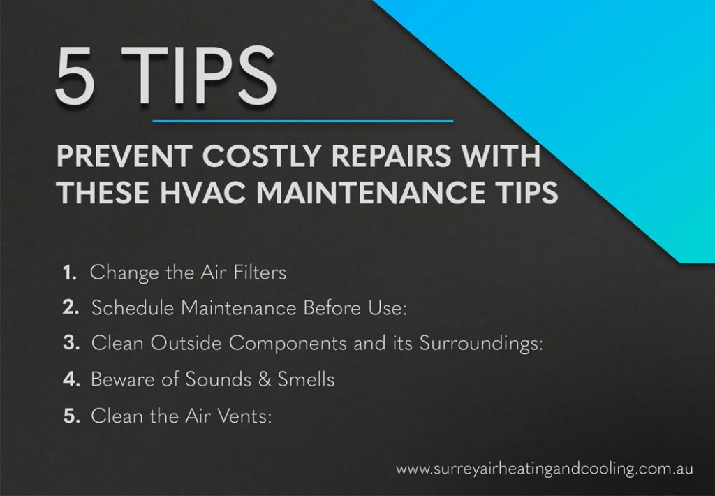 Prevent Costly Repairs with these HVAC Maintenance Tips