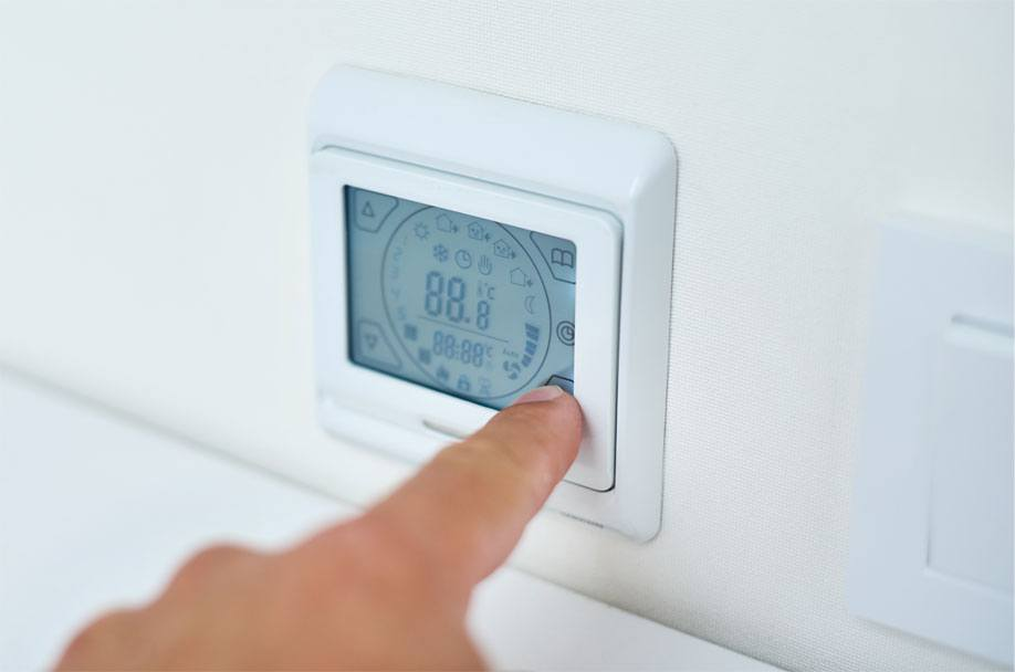 Thermostat in Heating and Cooling Systems